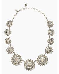 kate spade new york | Metallic Estate Garden Necklace | Lyst