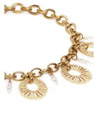 Lulu Frost - Metallic Oval Lumiere Necklace - Lyst