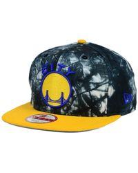 KTZ - Black Golden State Warriors Hwc Ozone Impulse 9Fifty Snapback Cap for Men - Lyst