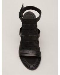 Rag & Bone - Black 'Deane' Sandals - Lyst