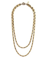 BaubleBar | Metallic Double Boucher Strands | Lyst