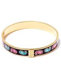 Liberty - Multicolor Multicolour Paisley Thin Bangle - Lyst