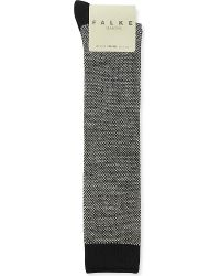 Falke | Black Knee-high Wool-blend Socks | Lyst
