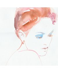 Lulu Frost - Metallic Code Number 14kt Rose Gold #2 Earring - Lyst