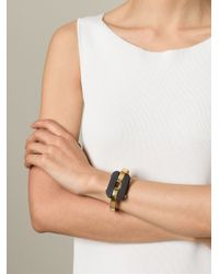 Fendi Black Chain Bangle