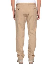 Gucci - Natural Casual Trouser for Men - Lyst