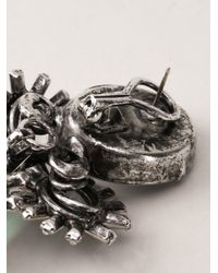 Iradj Moini - Green Floral Earring - Lyst