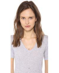 Jennifer Zeuner - Metallic Theresa Lariat Necklace - Lyst
