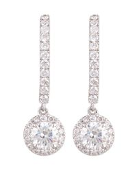 Messika | Multicolor Joy Diamond Halo Drop Earrings | Lyst
