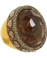 Sevan Biçakci - Yellow Diamond Citrine Snake Ring - Lyst