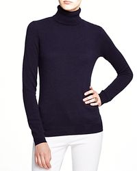 C By Bloomingdale's | Gray Turtleneck Cashmere Sweater | Lyst