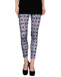 Kai-aakmann - Blue Leggings - Lyst