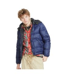 Denim & Supply Ralph Lauren | Blue Quilted Ripstop Down Jacket for Men | Lyst