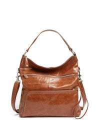 Hobo - Brown 'Quinn' Leather - Lyst