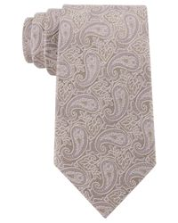 Michael Kors - Brown Michael Perennial Paisley Tie for Men - Lyst