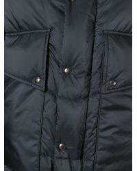 Moncler Gamme Bleu - Black Hooded Padded Jacket for Men - Lyst