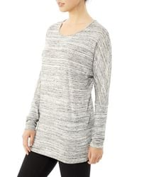 Alternative Apparel - Gray Escapist Eco-space Dye Jersey Tunic - Lyst