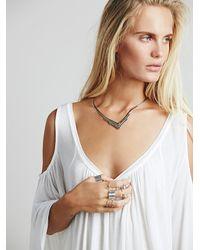 Erica Weiner - Metallic Womens Xanadu Necklace - Lyst
