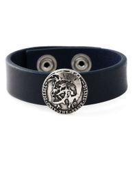 DIESEL | Blue 'astugo' Bracelet for Men | Lyst