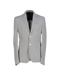 Balmain - Gray Blazer for Men - Lyst