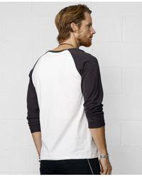 Denim & Supply Ralph Lauren - Black Baseball T-Shirt for Men - Lyst