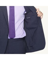 Ralph Lauren Black Label - Black Peakedlapel Nigel Suit for Men - Lyst