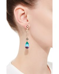 Hanut Singh - Metallic Principessa Earrings - Lyst
