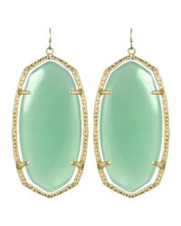 Kendra Scott - Green Danielle Earrings - Lyst