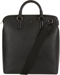 Serapian | Black Evolution Double Handle Briefcase for Men | Lyst
