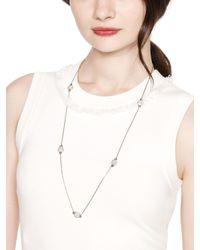 kate spade new york Metallic Brightspot Scatter Necklace