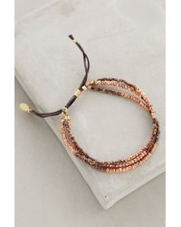 Shashi - Metallic Blaire Slide Bracelet - Lyst