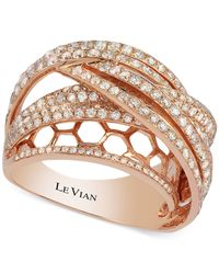 Le Vian | Metallic Diamond Layered Ring (2 Ct. T.w.) In 14k Rose Gold | Lyst