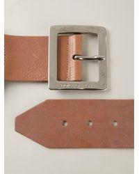 Dolce & Gabbana - Brown Buckled Belt - Lyst