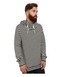 Scotch & Soda - Blue Home Alone Twisted Hoodie for Men - Lyst