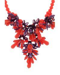 EK Thongprasert | Orange Jewelled Necklace | Lyst