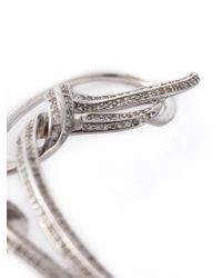 Nikos Koulis - Metallic Embellished Single Earring - Lyst