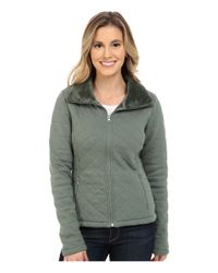 The North Face | Green Caroluna Crop Jacket | Lyst