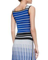 Ohne Titel - Multicolor Striped Crop Top - Lyst