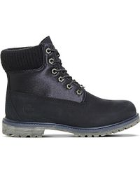 Timberland | Black Premium 6 Nubuck Boots | Lyst