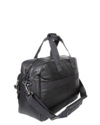 Eastpak - Black Dokit Leather Briefcase for Men - Lyst