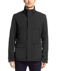 HUGO - Black 'bengto'   Water Repellent Outdoor Jacket for Men - Lyst