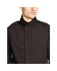 Ralph Lauren Black Label - Black Slim-fit Steering Jacket for Men - Lyst