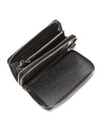Lyst - Prada Portafoglio Lampo Wallet in Black for Men be97465e2c