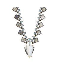 Nak Armstrong - Blue Women's Geometric-pendant Necklace - Lyst