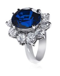 Carat* | Blue Royal Engagement Sapphire Ring | Lyst