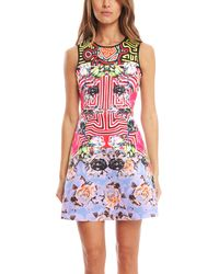 Clover Canyon | Multicolor Floral Maze Dress | Lyst