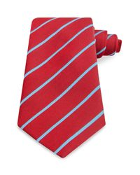 Thomas Pink | Blue Dursley Stripe Classic Tie for Men | Lyst