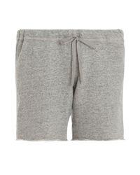 CLU - Gray Basic Sweat Shorts - Lyst