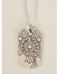 Chrome Hearts - Metallic Engraved Necklace - Lyst