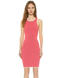 Jonathan Simkhai - Pink Techno Dress - Lyst
